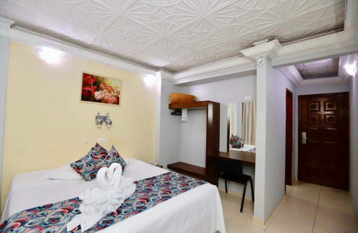 Quarto Individual ou Duplo - Hotel Mirante em Foz do Iguaçu